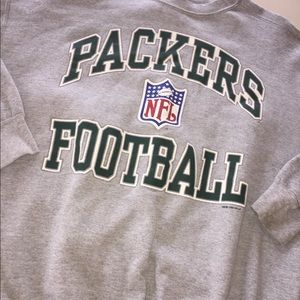 Vintage 96 Packers Spell Out Oversized Sweatshirt